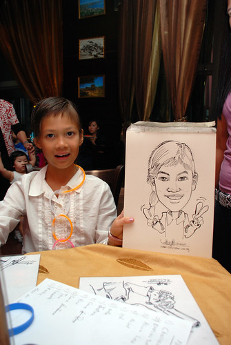 Caricature bithday party 311207 2