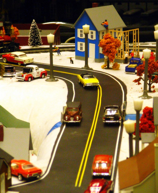 Model Train Display #9
