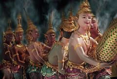 Samudra Manthan (fesign) Tags: thailand bangkok hinduism bangkokairport fesign suvarnabhumi abigfave istvankadar samudramanthan thechurningoftheoceanofmilk