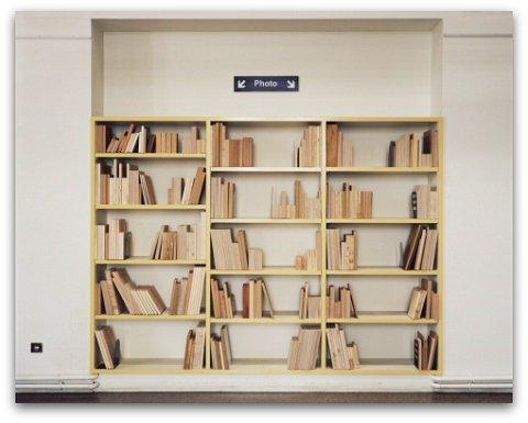 Biblioth ques une nouvelle expo photo de fr d lebain la galerie philippe - Faire sa bibliotheque ...