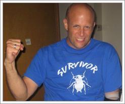 Jarrett Knyal Cockroach Survivor - Quicken Loans