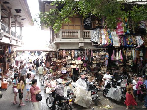烏布傳統市集,看的成分多過於買