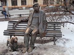Jakowtschenko Denkmal (ipernity.com/doc/d-f [hat Suckr verlassen]) Tags: monument theater theatre ukraine actor kiev kyiv киев denkmal ukraina kiew pomnik schauspieler україна київ украина kijów