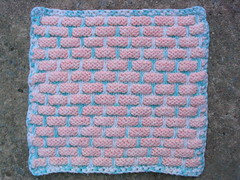 Knitted Ball Band Dishcloth