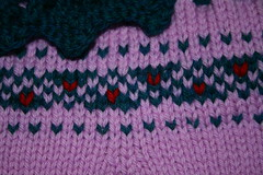 Sweater Sampler Detail