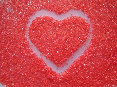 playing with the sugar (Through Joanne's eye) Tags: red cookies hearts yummy heart valentine sugar valentines joanne brokenheart bemine manthei happyvalentinesday photofaceoffwinner pfogold canen joannecanen