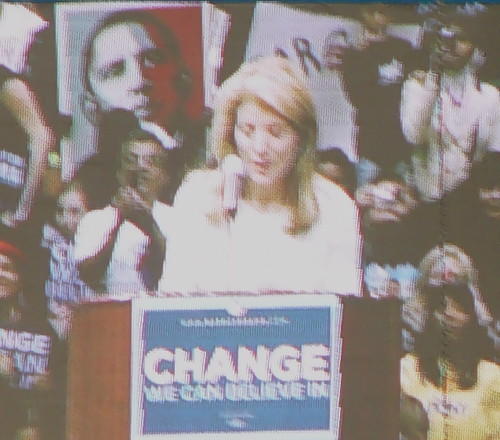 Caroline Kennedy at Obama Rally