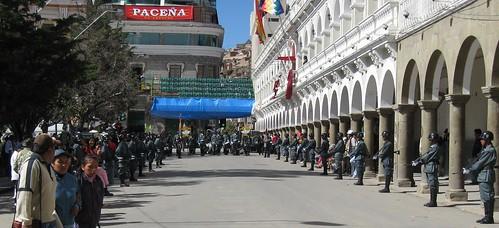 La prefectura de Oruro