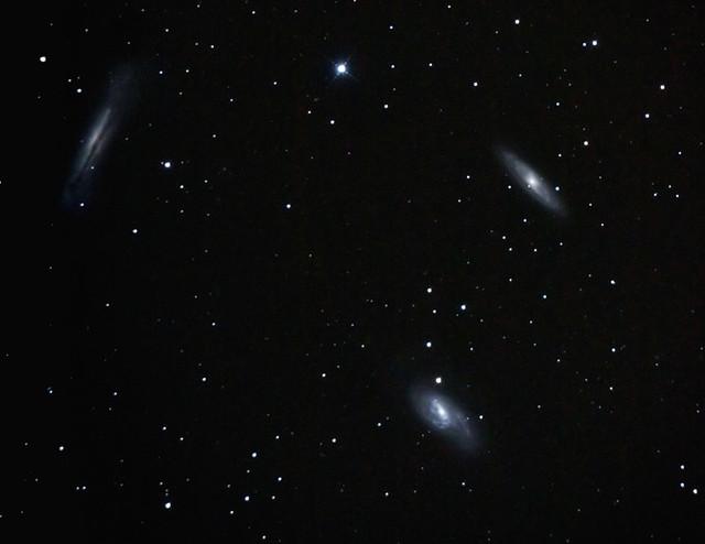 M65-M66 ed NGC 3628