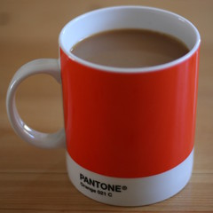 My mug (Karloskar) Tags: orange coffee canon350d mug pantone karloskar 021c orange021c