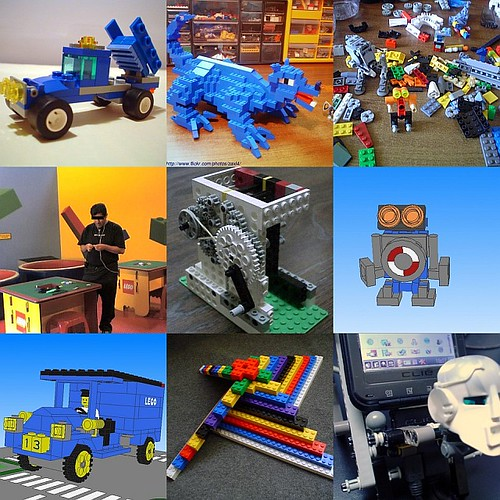 lego collage