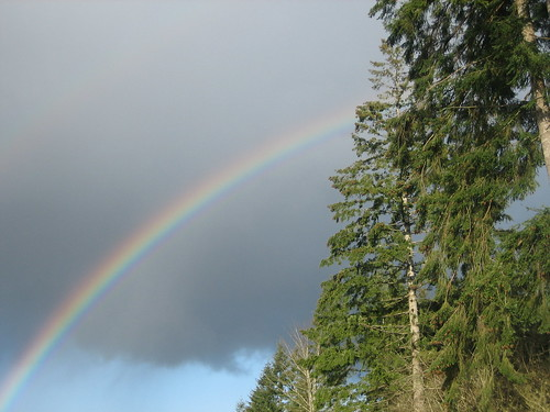 rainbow in Aberdeen WA
