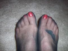 86 (feet_man18) Tags: feet stockings socks bea femalefeet