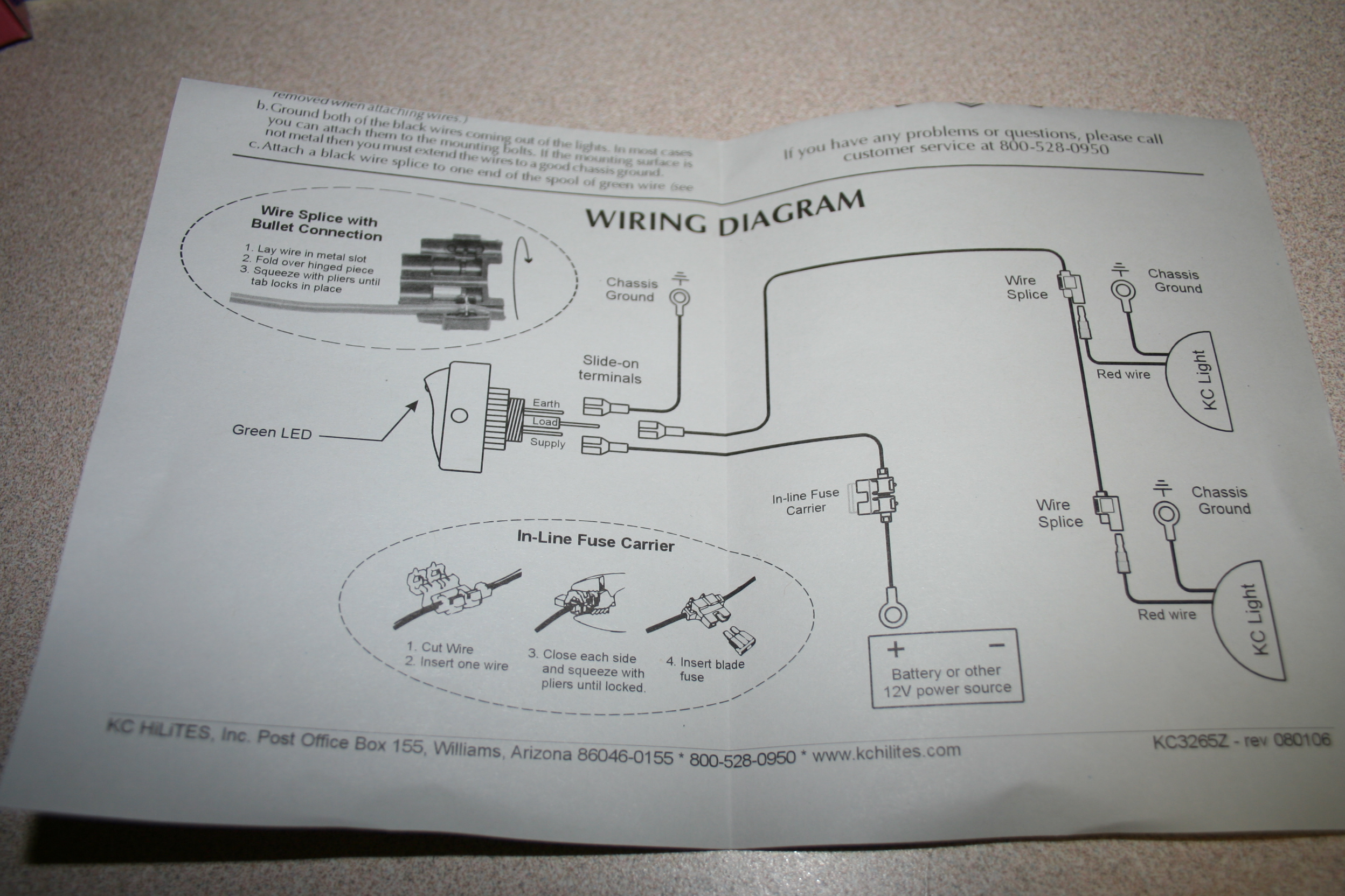 Unboxing Of Kc Daylighters And Wiring Diagram Toyota Fj