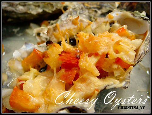 Gathering Dinner: Cheesy Oysters