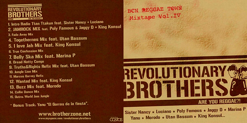 are you reggae? Revolutionary brothers & king konsul