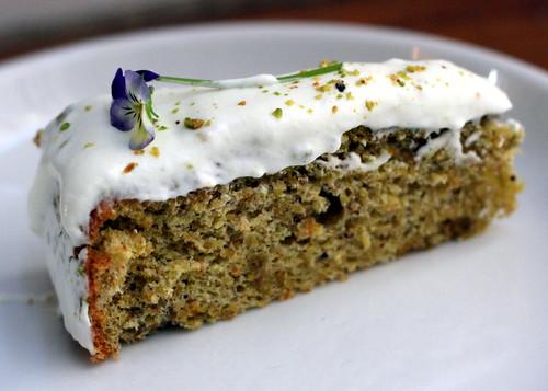 Pistachio Torte / Chez Panisse Desserts