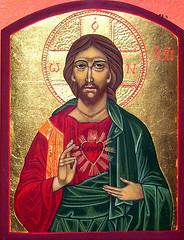 Herz-Jesu-Ikone