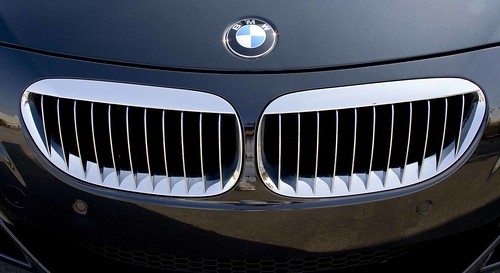 2007 BMW M6 Convertible front grille