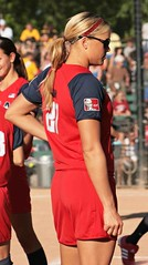 USA Olympic Pitcher Jenny Finch (laineydyer) Tags: usa game portland team beijing softball asa olympics 27 pitcher allstars 2008olympics jennyfinch usaolympian