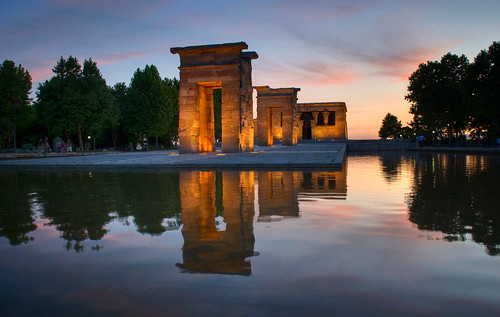 Templo de Debod Sunset 05