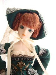 20090513j-doll2 (feather tiara) Tags:  jdoll