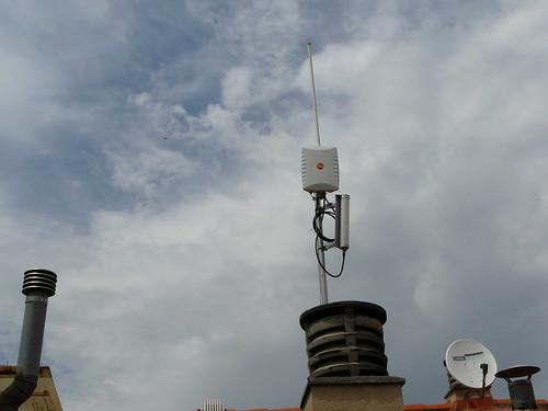 L'antena planar nova instalada
