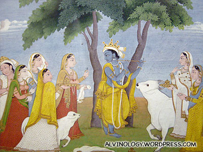 Krishna was a babe magnet