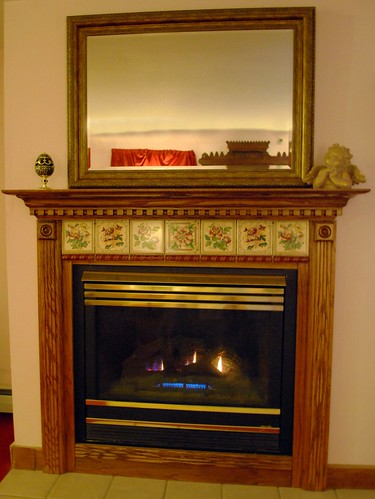Fireplace in the Prince Alfred Room