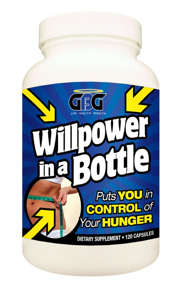 Willpower in a Bottle
