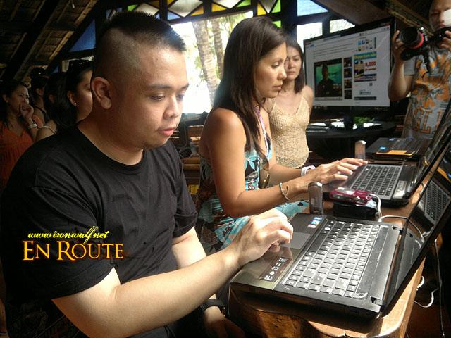Dodge of Unbox.ph and Patricia Hizon