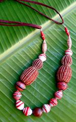 beads beads beads (Mzuri beads) Tags: bananaleaf barkcloth cowhorn paperbeads ethicalfashion ribbonnecklace recycledjewelry fairtradejewelry naturalbeads fairtradebeads ugandanbeads ecojewellery ethicalbeads mzuribeads ugandanjewelry kirstiemaclean