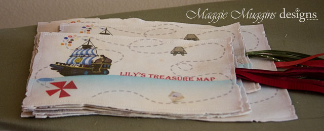 Stack of Treasure Maps