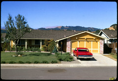 Novato California - October 1968 (KurtClark) Tags: california ca slide pontiac novato kodachrome rambler lemans 1965