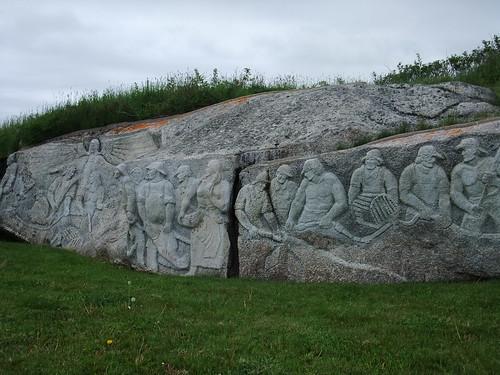 Peggy's Cove Sculpture