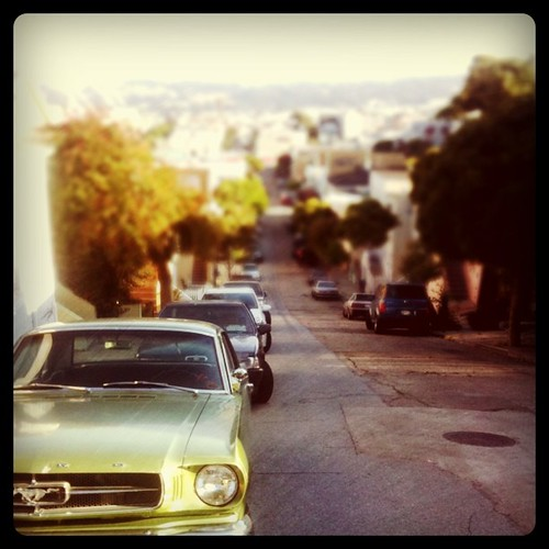 evening in bernal