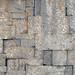 black basalt wall, qanawat, syria, easter 2004