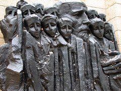 Jerusalem - Yad Vashem - Korczak and the Ghetto's Children Statue (*Checco*) Tags: santa city statue children israel holocaust memorial peace bambini jerusalem middleeast holy jewish pace heroes jews judaism remembrance martyrs ghetto statua pilgrimage holyland oldcity victims martiri citt judea yad vashem yadvashem israele gerusalemme holycity terrasanta mediooriente vittime pellegrinaggio eroi ebrei olocausto ricordare memoriale korczak ebraismo cittsanta giudea