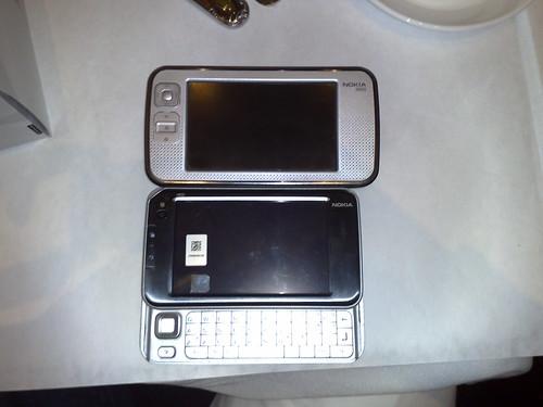 N800 vs. N810