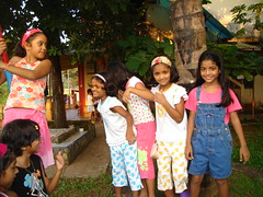 Riza's ninth birthday party, Oct 2007, Goa