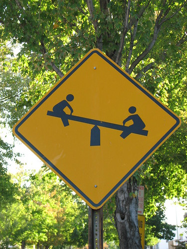 Caution - See-Saws Ahead!