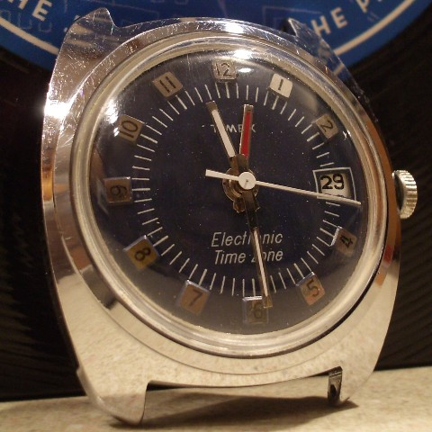Timex 197  Electronic Time Zone