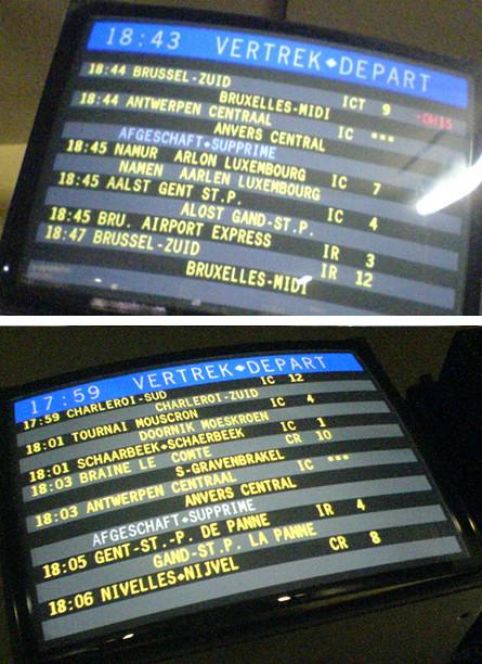 2 x Trein afgeschaft  Train cancelled by Bart Claeys