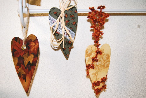 Corazones de otoño