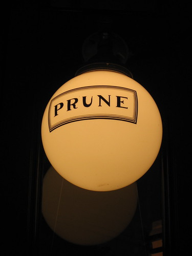 Prune Restaurant - Lower East Side - New York City
