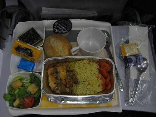 cena in aereo