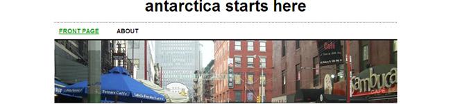 antarctica starts here