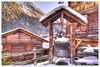 Grimentz (christianmeichtry) Tags: winter mountain snow alps cabin europe resort alp cauldron wallis valais grimentz sli anniviers chaudron raccard mywinners abigfave racard