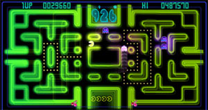 Pacman Championchip Edition Screen