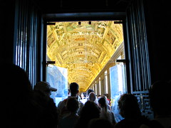 Gold from the New World at the Vatican (Sonal And Abe) Tags: travel vacation italy vatican rome roma gold europe italia european basilica europeanvacation religion ceiling catholicism vaticancity cathoic goldenceiling